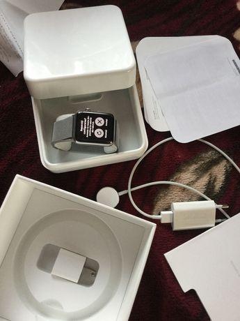 Apple wach 2 stainles steel 42 mm cu garantie 1 an