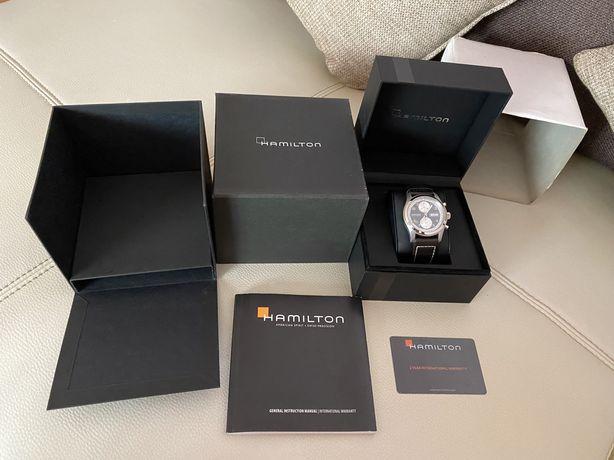 Ceas Hamilton,automatic,în cutie cu accesorii+actele de autenticitate.