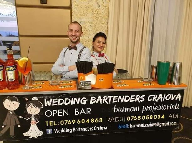 Open bar & barmani profesionisti