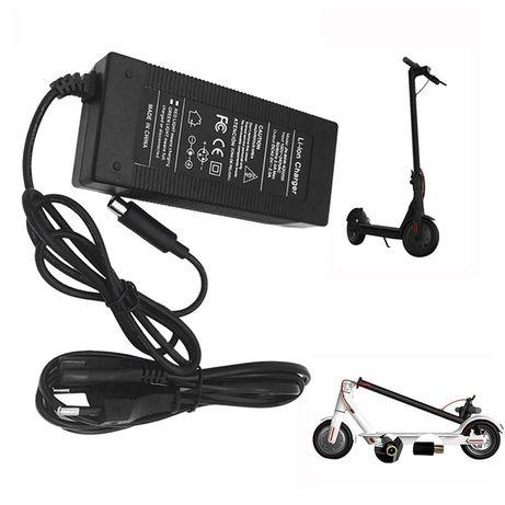 ЧЕРЕН ПЕТЪК! Зарядно за електрически скутер Xiaomi M365 и Segway ES1 E