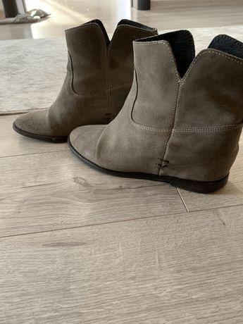 Ghete Monti Shoes-piele