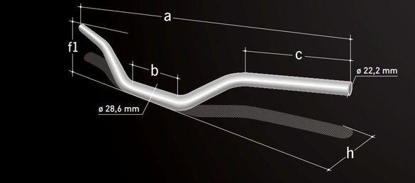 Кормило Magura X-line за KTM