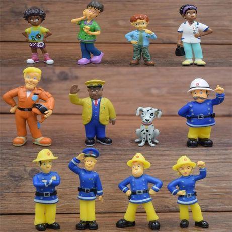 Set 12 figurine pompierul Sam