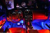 Цветомузика LED Интериорно Осветление Диодни ленти RGB кола осветление
