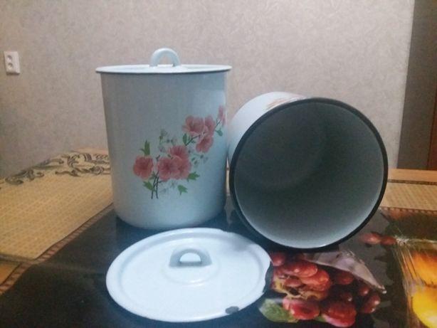 контейнер для сыпучих продуктов эмалированный