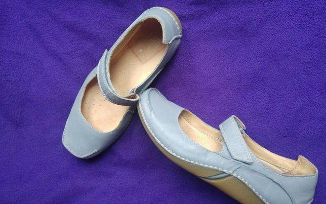 balerini Clarks Active Air comfort nr.5,5 -24cm interior-culoare bleo