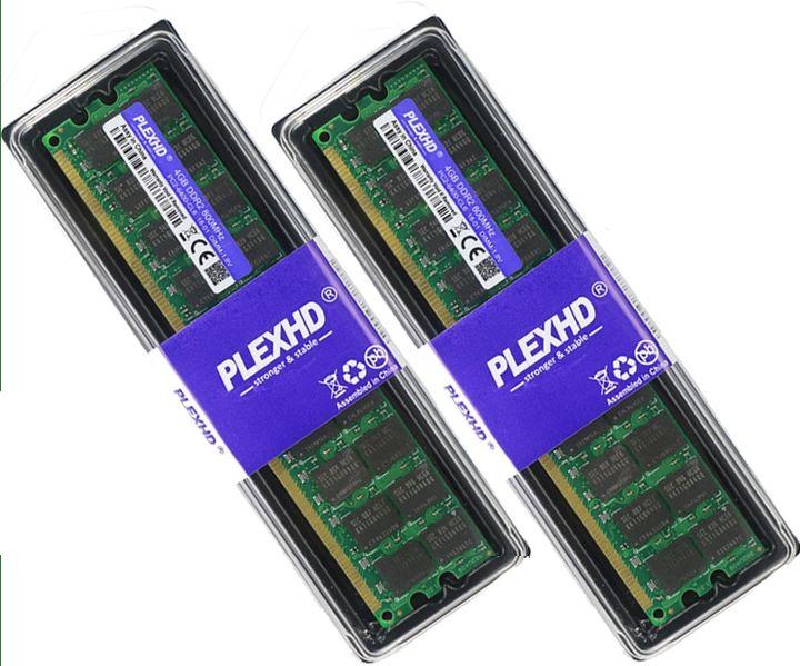 Нови!!! 4GB DDR2 800MHz Ram гр. София - image 1