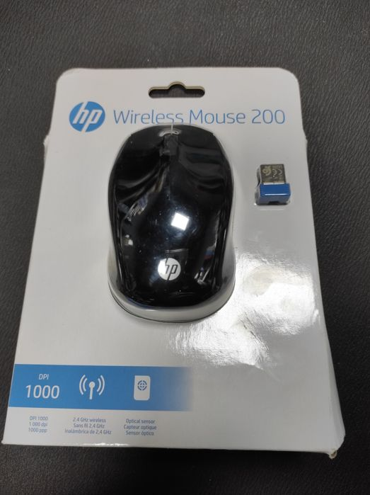 Mouse Wireless HP 200 - Negru - Nou Sigilat Timisoara - imagine 1