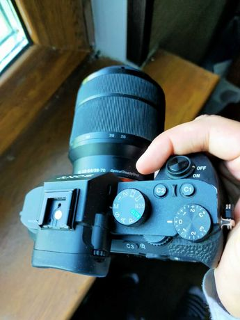 СРОЧНО ПРОДАЮ Sony Alpha -7 II + SEL 28-70mm f/3.5-5.6 OSS