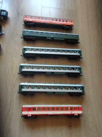 Vagoane de calatori si marfa pentru trenulet HQ-16,5 mm-1:87
