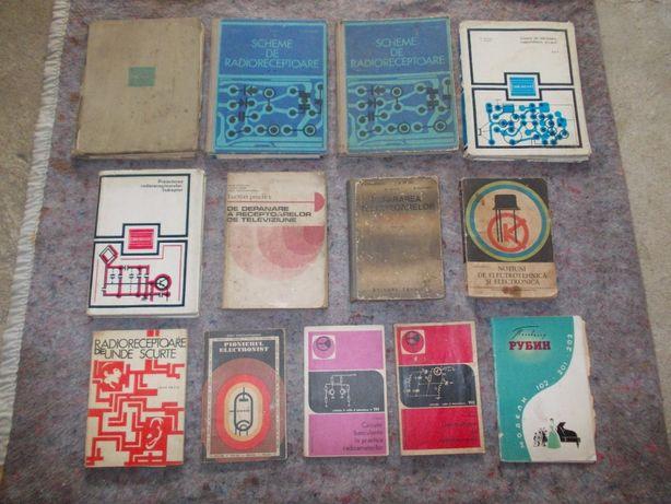 Vand carti de electronica pentru radio si tv vechi