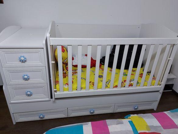 Бебешко креватче 3 в 1