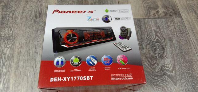 Магнитофоны Pioneer GB DEH-XY1770SBT, Pioneer DEH-XY180SBT и BOS-M