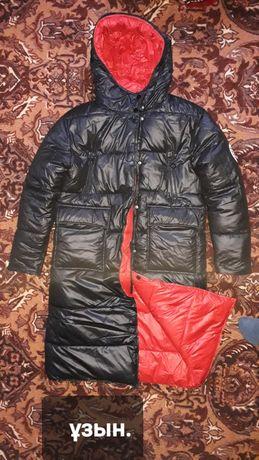 Екі жағын киетін зимный куртка.замш.дублёнка.куртка.
