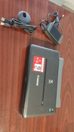 Vand imprimanta portabila cu baterie Canon Pixma ip110