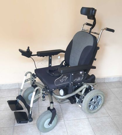 Акумулаторна инвалидна количка с джойстик VERMEIREN+ГАРАНЦИЯ+ТРАНСПОРТ