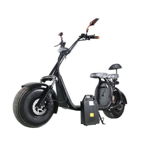 Scuter Electric 2000W, Baterie 20 Ah, 2 persoane Full Options Garantie