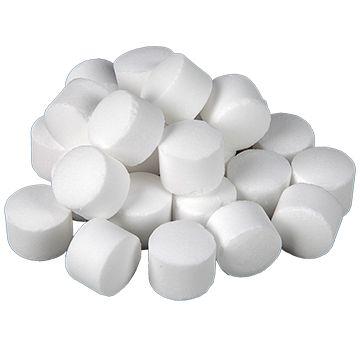 Сол на таблетки за омекотителна система