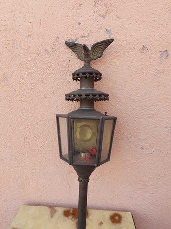 Градинска лампа от Месинг фигура орел