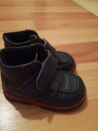 Детские осенние кожаные ботинки Ташиорто, размер 22