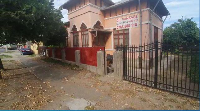 Casa + Teren -1400mp - E85 - Intre farmacia Nichita si Alex 2000