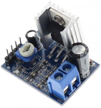 Amplificator mono, 18W, (TDA2030), alimentare 6-12V