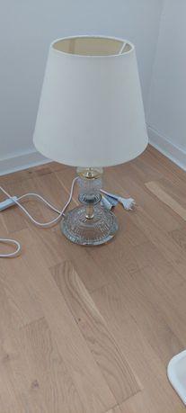 Lampa veioza vintage de colectie din sticla 1980