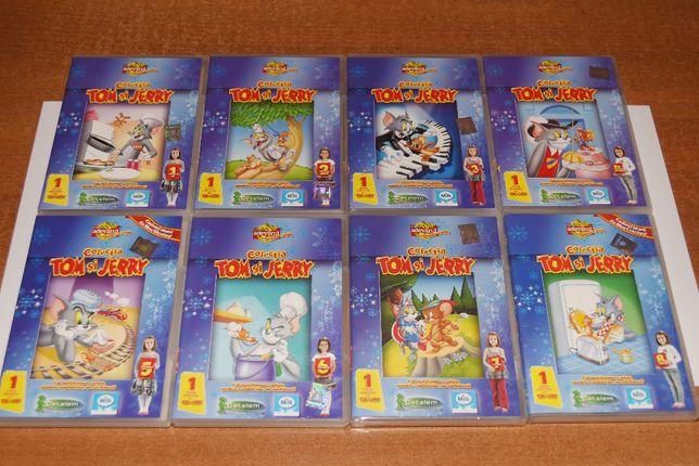 Colecția Tom și Jerry - 8 DVD-uri, 64 Episoade