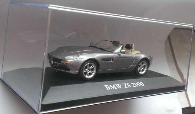 Macheta BMW Z8 Roadster E52 2000 - IXO/Atlas 1/43