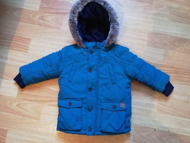 Зимняя куртка на мальчика в отличном состоянии