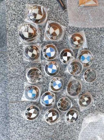 Set Embleme BMW Capota Portbagaj haion 82mm 74mm logo