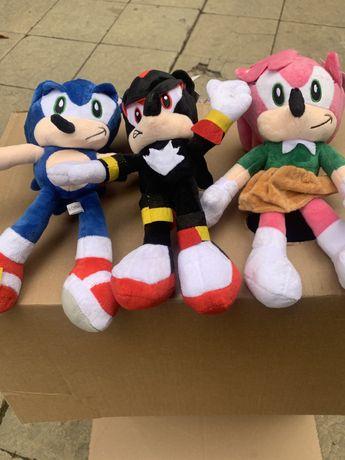 Сонек плюшена играчка 30см,Soniq играчка,sonik,sonic,плюш