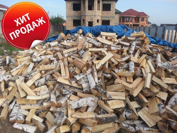 Дрова Береза, Бесплатная доставка, для бани и камина, 21 тыс - 1 куб.