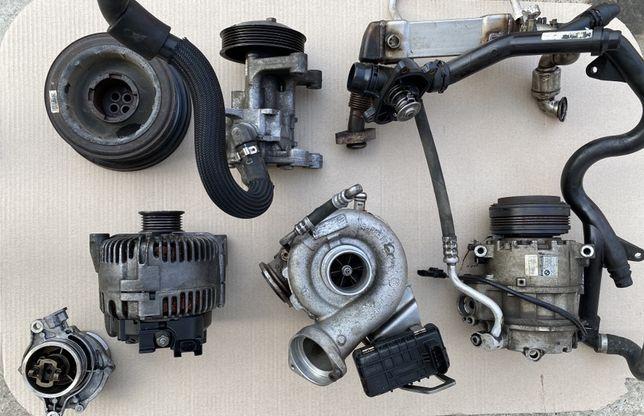 Turbo / Pompa servo / Vacuum / Fulie motor / Alternator - BMW X5 / X6