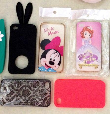 Кейсове за IPhone 4 и 4S, Minnie Mouse, принцеса Sofia