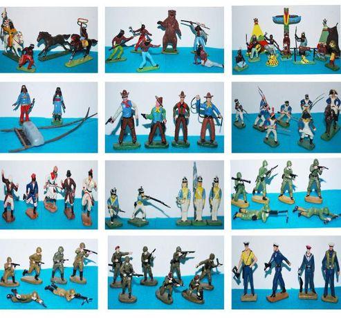 рицари, пластмасови войници, индианци каубои,наполеонови войници