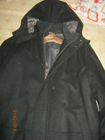 Palton barbatesc 3/4 cu gluga-NOU