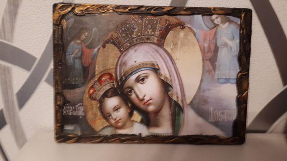Икона Богородица с младенеца