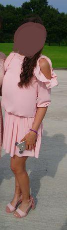 Розова рокля, супер фина, Lucy