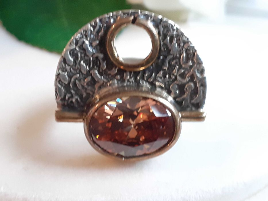 Inel argint zirconiu Craiova - imagine 1