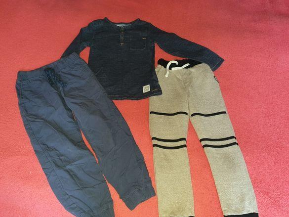 Блузка и долници h& m 5-6 г