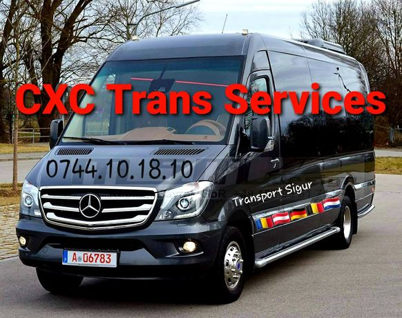 TRANSPORT Zilnic-Germania Belgia Austria Olanda-Persoane Auto Colete