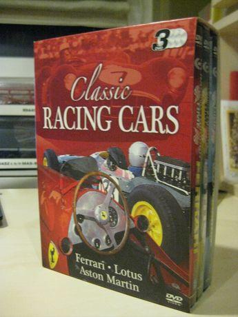 Класически състезателни коли, ретро, двд поредица.
