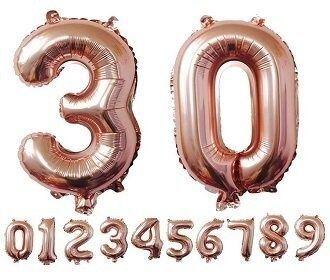 Фолио Балони--Цифри 102см - ПРОМО ЦЕНА