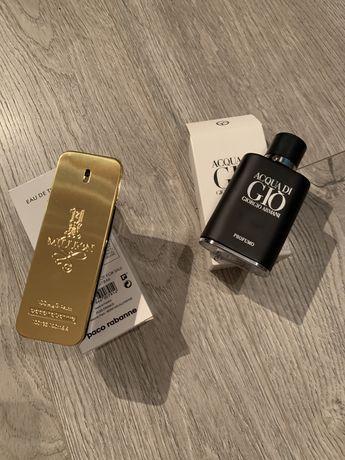 Parfumuri tip tester One Milion si Aqua gi Gio Profumo NOI
