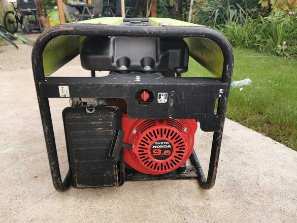 Генератор за ток Honda агрегат 5 kW монофазен, трифазен