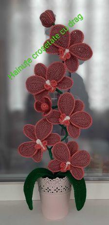 Flori croșetate