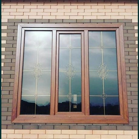 Пластиковые окна и перегородка