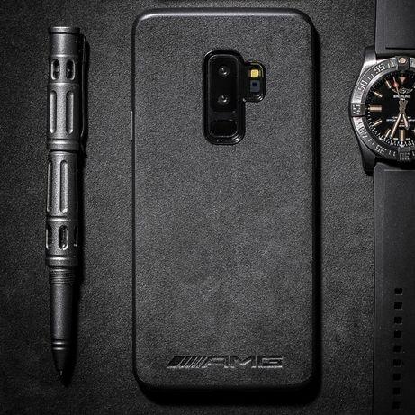 AMG Калъф АЛКАНТАРА за Samsung GALAXY S10, S10+, S9, S9 Plus, S20, S8