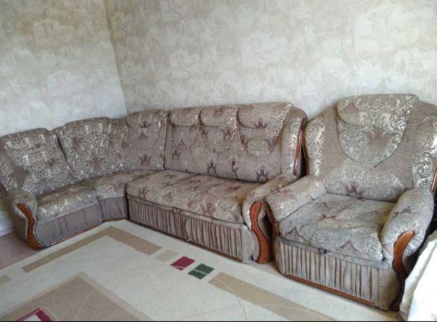 Диван уголок + кресло